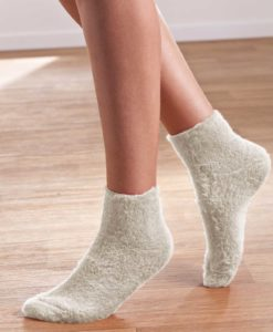 Calcetines de cama reversibles Thermolactyl. - Natural