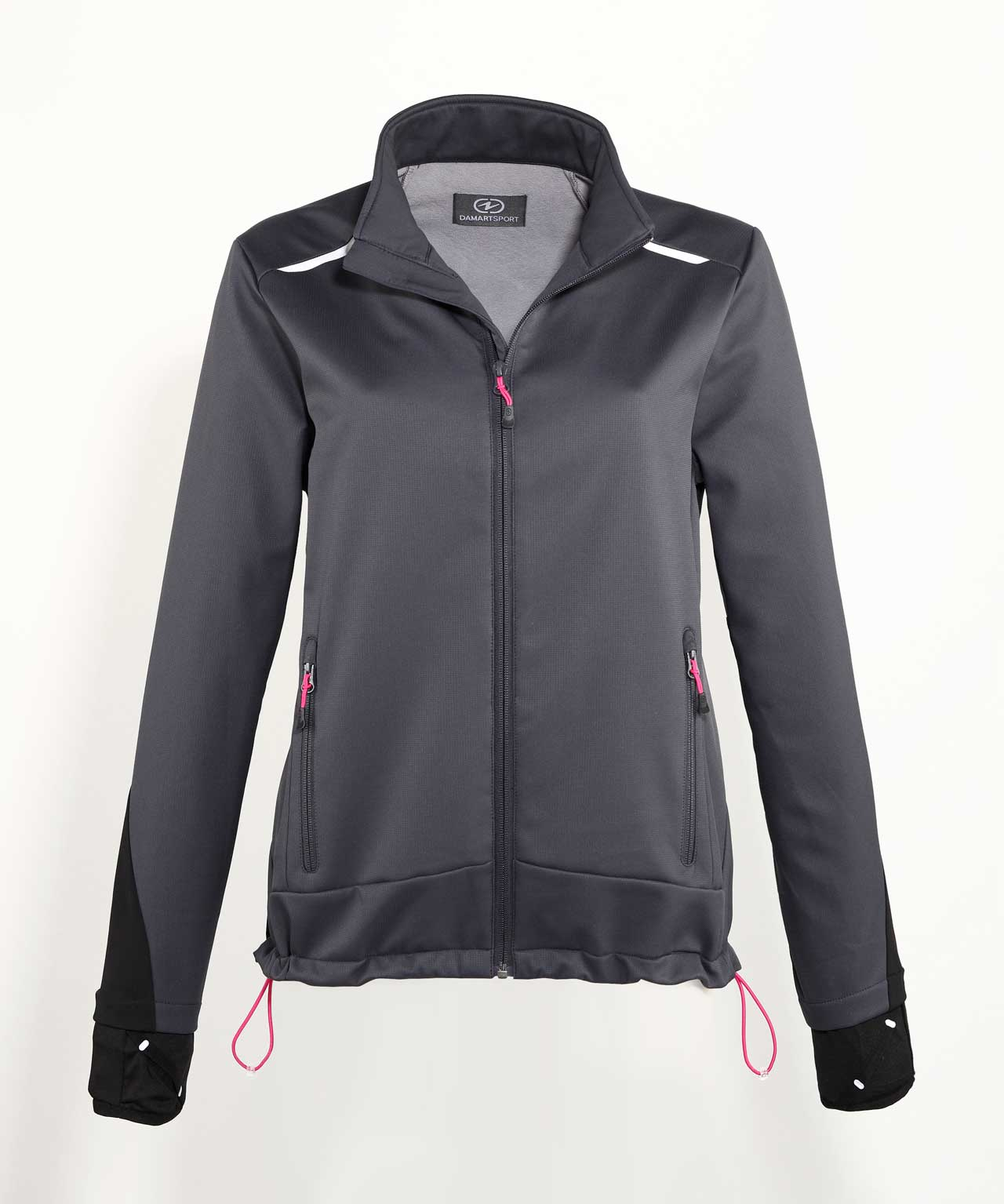 Chaqueta Soft Shell impermeable y transpirable esquí mujer - Antracita