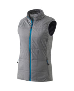 Anorak ligero sin mangas impermeable Thermolactyl mujer - Gris vivo