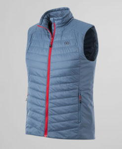 Anorak ligero sin mangas impermeable Thermolactyl hombre - Azul Gris