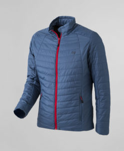 Anorak ligero impermeable Thermolactyl hombre - Azul Gris